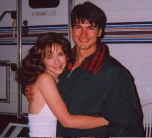 Jason with Jennifer Love Hewitt